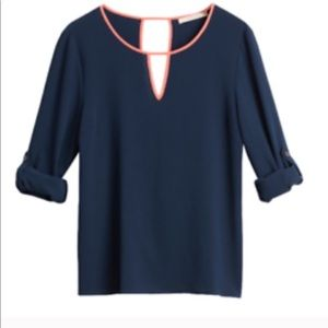 41 Hawthorn Spinnet crossback blouse